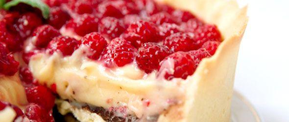 Chocolate Raspberry Cream Pie Recipe | Tartas y Pies | Pinterest