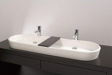 Vessel Trough Sink : vessel trough sink - Google Search Wish List: Guest Bath Pinterest