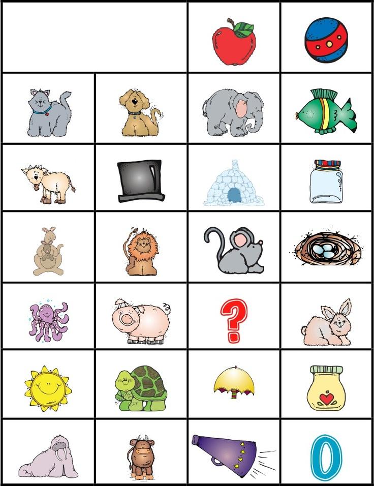 Alphabet Chart Printables Pinterest