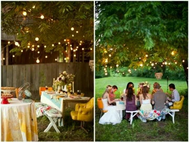 backyard rehearsal dinner casual wedding ideas pinterest