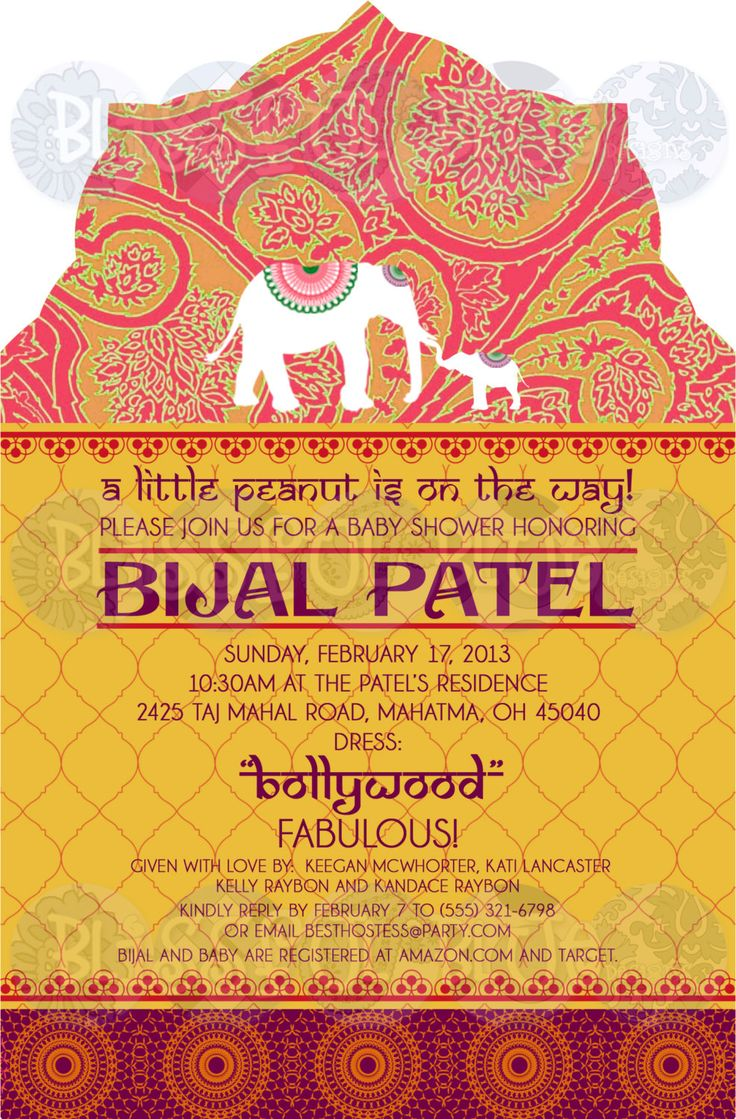 Indian Baby Shower Invitations was very inspiring ideas you may choose for invitation ideas