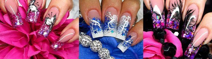 Gallery - nail design by Kamila Achatz   Nails, Nails, Nails!   Pinte