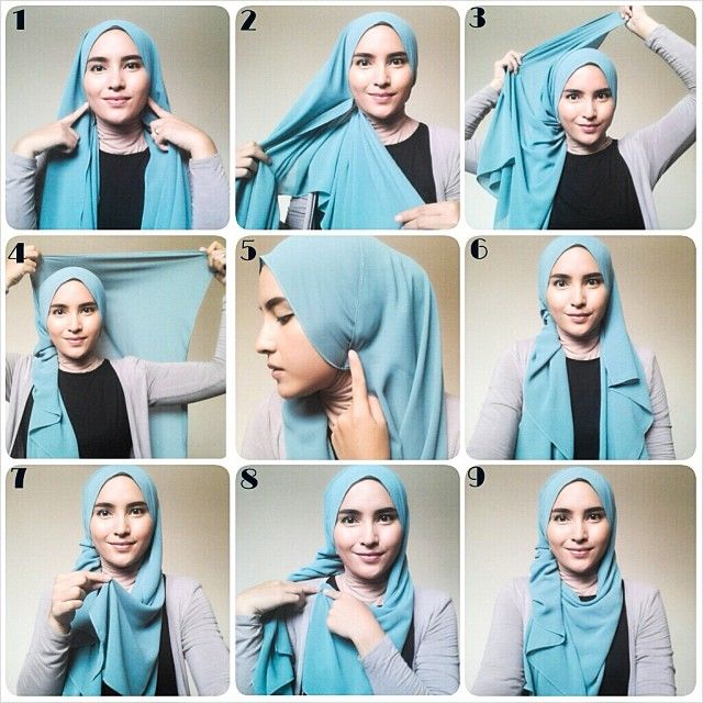 Modern And Beautiful Hijab Styles Tutorial  Fashion Urge