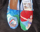 little mermaid shoes