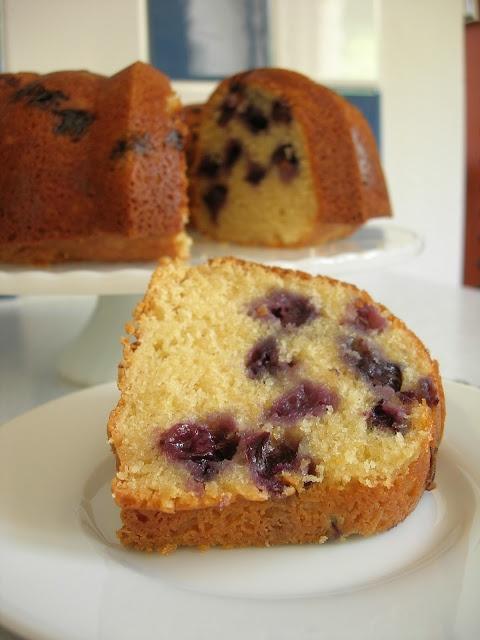 Blueberry-Lemon Bundt Cake | Sweets and Treats | Pinterest