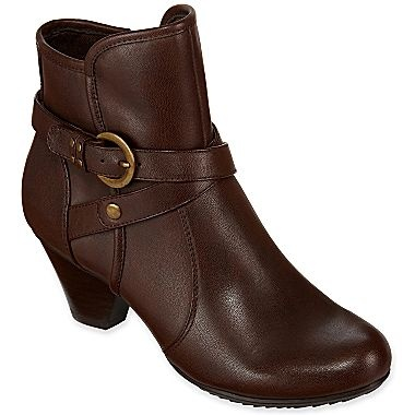 YUU Rina Buckle Booties - jcpenney