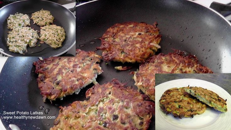Sweet Potato Latkes (Pancakes) | Paleo | Pinterest