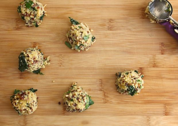 10 Recipes, 1 Perfect Dinner Party: Kale and Quinoa Cakes