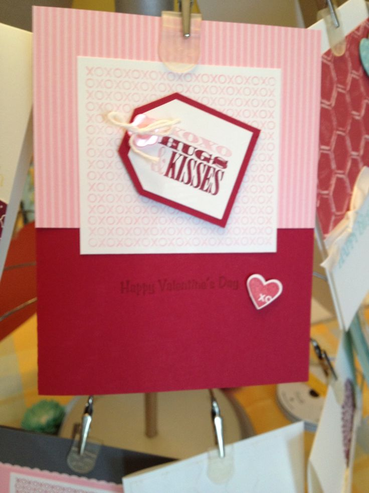 Stampin Up Card Ideas On Pinterest