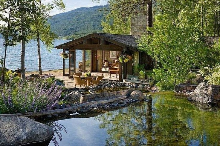 Cabin By The Lake Favorite Places And Spaces Pinterest