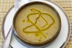 Revithia - Greek Chickpea (Garbanzo Bean) Soup with Lemon and Olive O ...