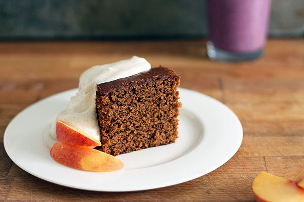 Old Fashioned Gingerbread Cake full of molasses, warm spices, and ...