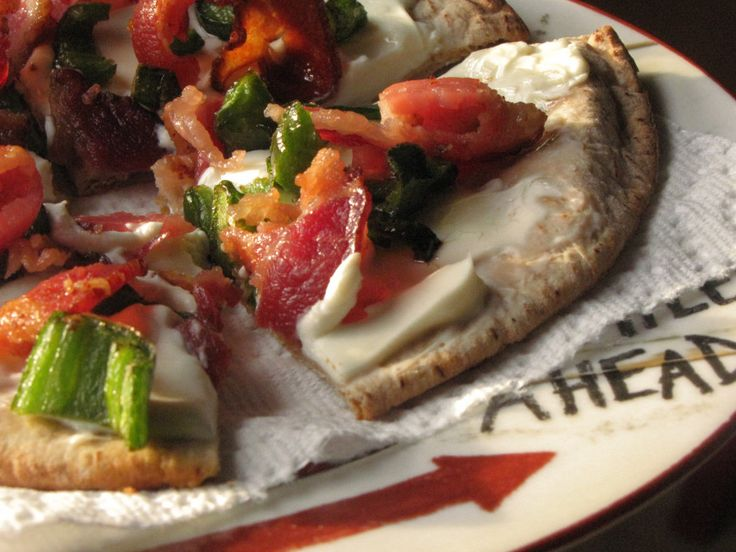 Jalapeno Popper Pizza (S)