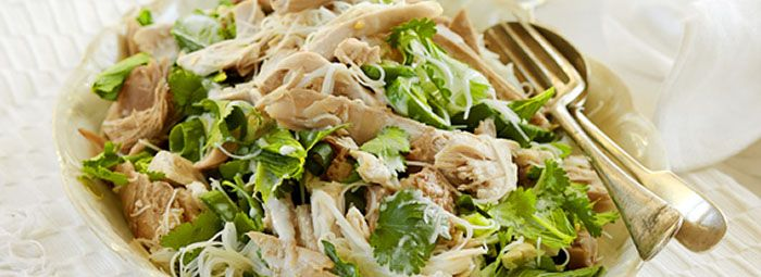 Turkey and Rice Noodle Salad | Foodie's faves | Pinterest