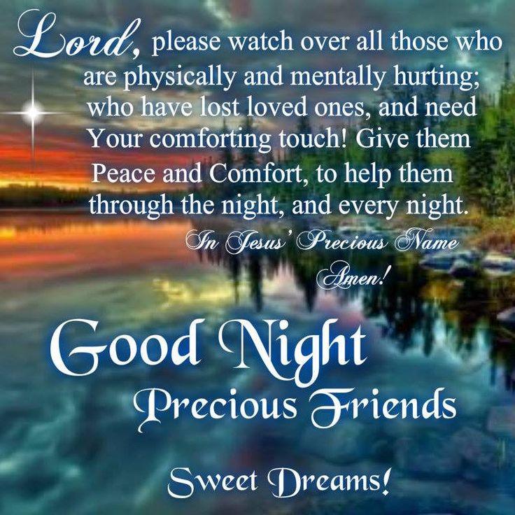 Good night blessings good night prayer quotes amp prayers
