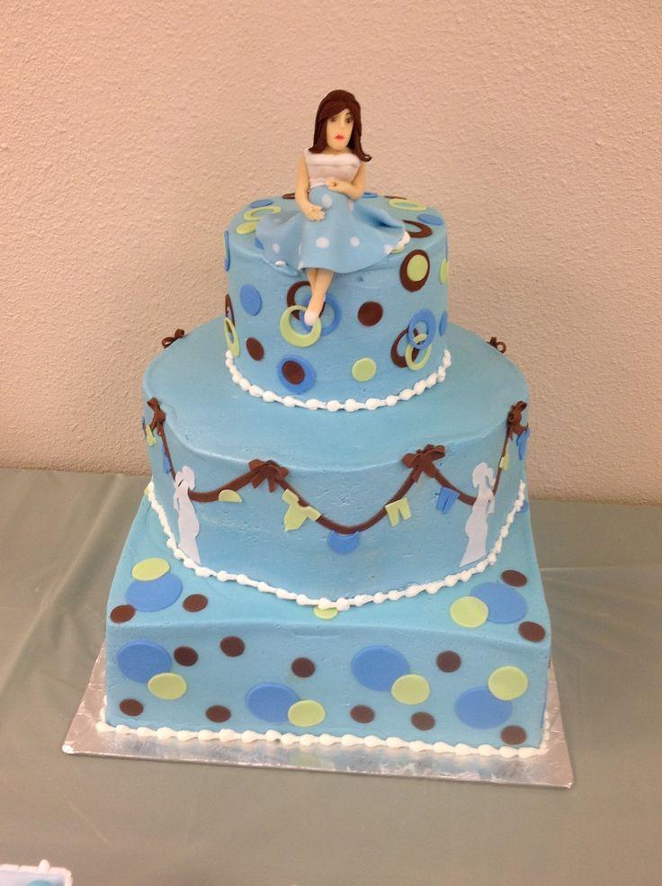 baby shower cakes pinterest