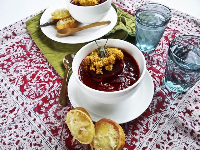 beetroot amp maitake stew w turmeric quinoa for # passover # vegan