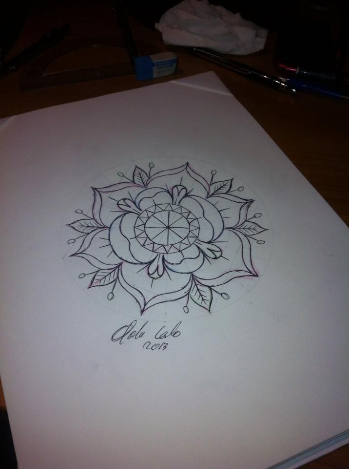 Neo Traditional Flash Tattoo flash #tattoo idea #neo