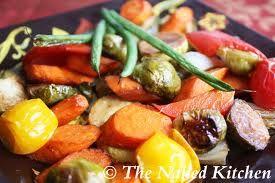 Oven roasted vegetables | Nourishment | Pinterest
