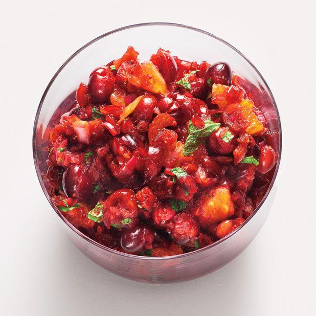 Cranberry-Orange Relish with Mint Recipe
