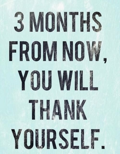 Losing Weight: 3 Months from now - I know that for sure!! Watch our weight loss videos at http://www.indetails.com/category/fitness-exercise/