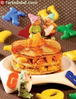 Pancakes With Apricot-Bourbon Sauce Recipes — Dishmaps