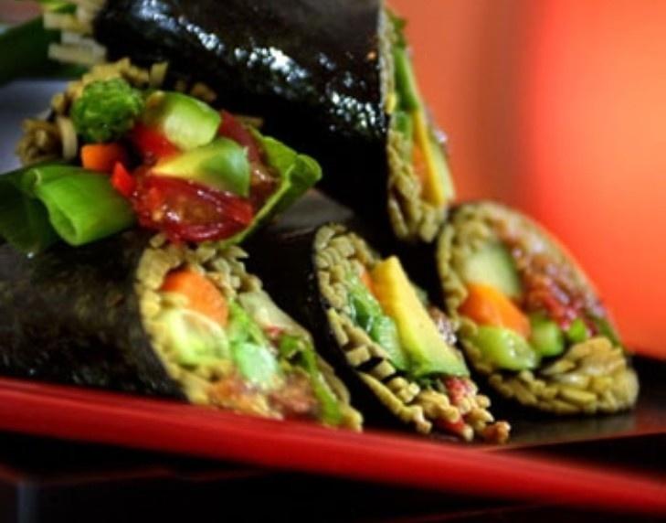 Soba noodle sushi rolls | Cooking | Pinterest