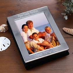 Engraved Silver Photo Frame Album - Personalized Free $22.45: pinterest.com/pin/6122149463674421