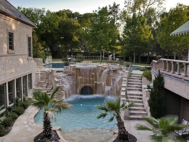 2 story pool dream home pinterest for 2 story house with pool