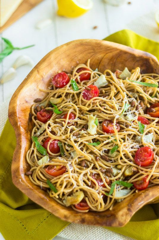 vinaigrette italian spaghetti pasta salad recipes yummly whole wheat ...