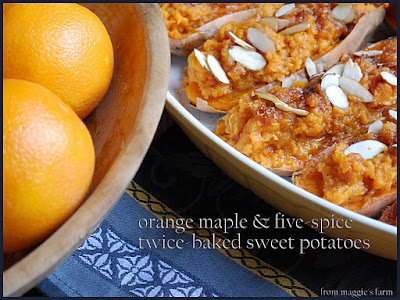 Chipotle, Orange, Maple Twice Baked Sweet Potatoes Recipe ...