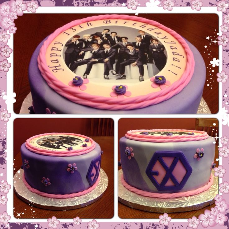 Bts Cake Design