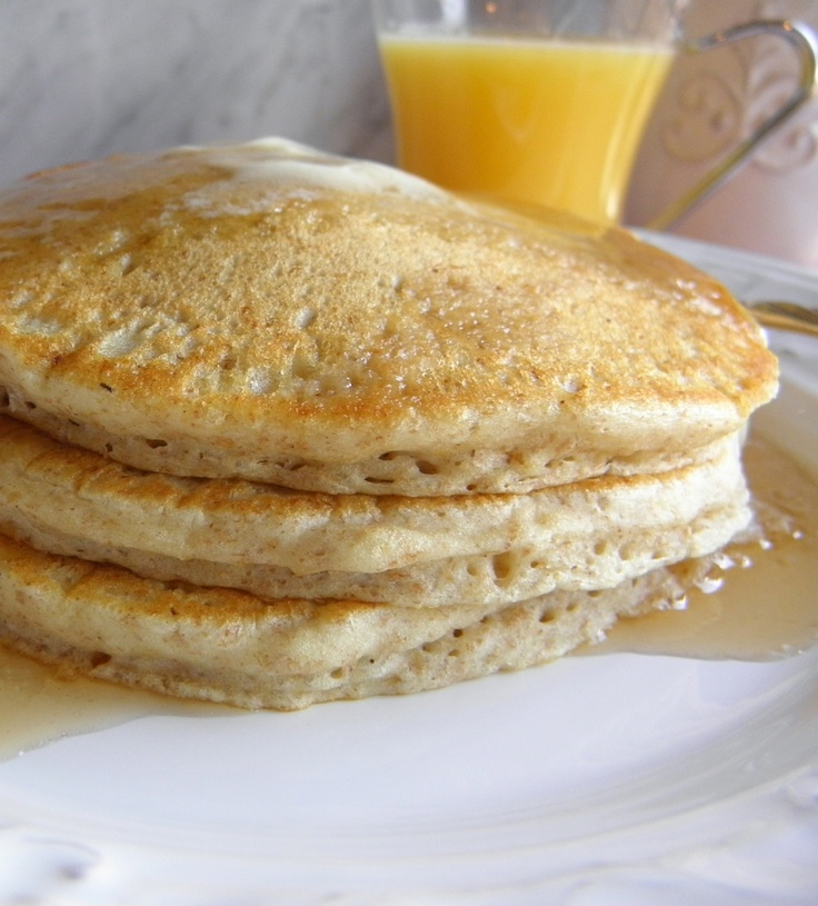 Whole wheat pancakes | Good morning | Pinterest