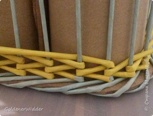 Плетение из газет японское