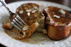 pumpkin cream cheese stuffed French toast.