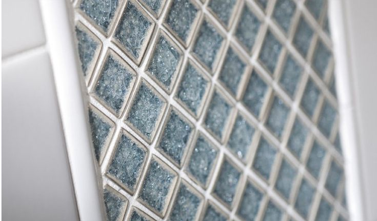 cracked glass tiles tile stone design pinterest