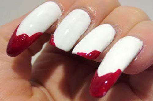 Blood Red Halloween Nail Art | Wear oh wear | Pinterest