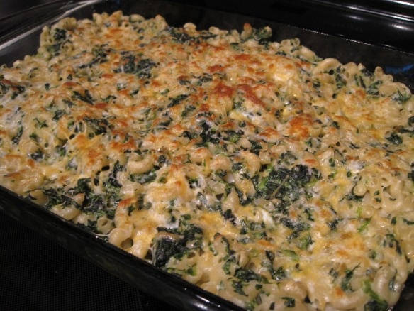 Spinach Mac and Cheese!! | Food! | Pinterest