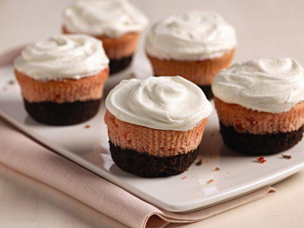 Neapolitan Cupcakes | Cupcake Recipes | Pinterest