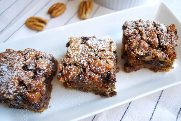 Chocolate Pecan Bars 007 | Recipes I have to try. | Pinterest