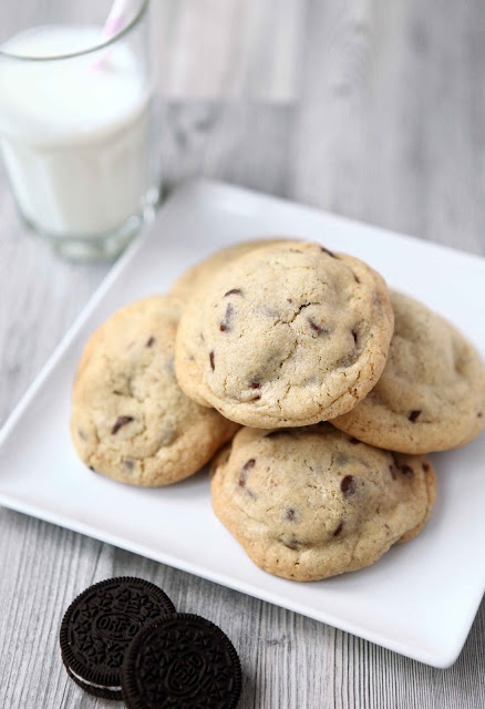 Oreo stuffed chocolate chip cookies | Food and Drinks :) | Pinterest