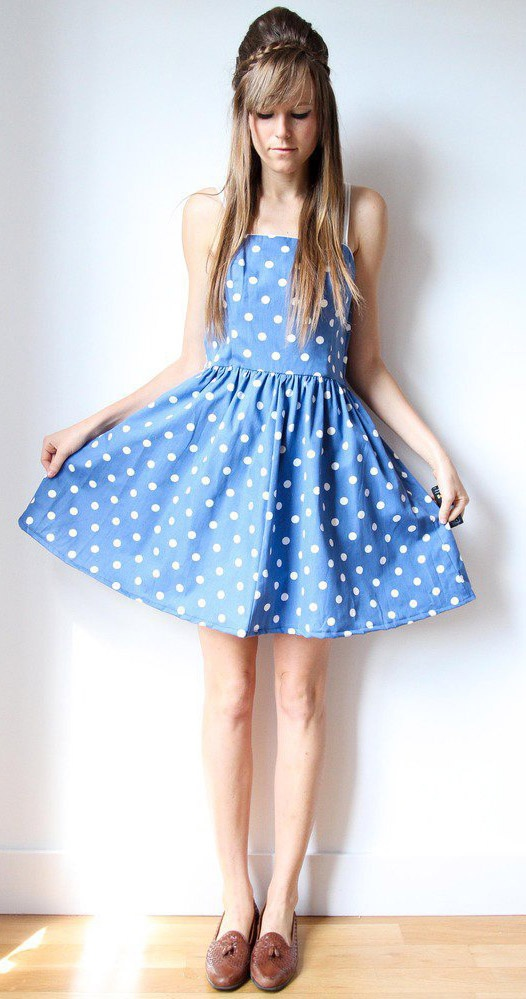 Polka Dots Pretty For Me Pinterest together with  on polka dot bridesmaid dress my desired style pinterest