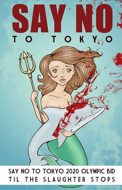 STOP the SLAUGHTER! #Boycott Japan & Sign Petition www.causes.com/actions/1724723-challenge-japan-to-end-taiji-dolphin-hunt-for-tokyo-2020-olympic-bid