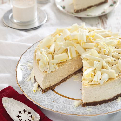 Eggnog Cheesecake III Recipe — Dishmaps