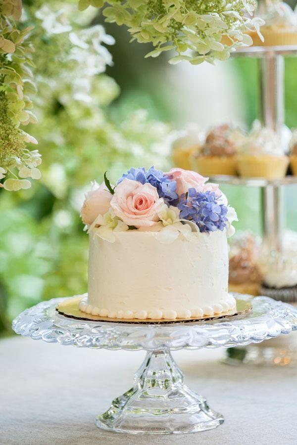 ❥garden party cake