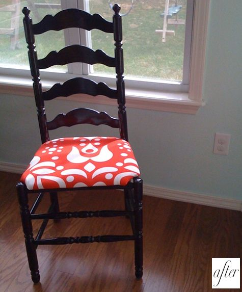 Replace Rush Seat With Fabric Furniture Creations Pinterest