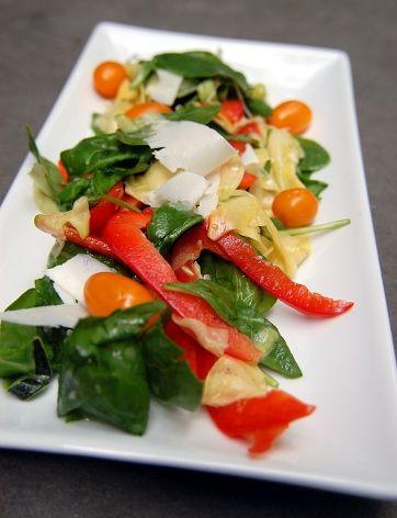 Shaved Summer Squash Salad | Salad | Pinterest