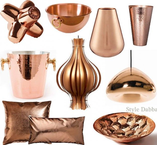 Copper Home Decor And Accessories Ode To Rose Gold