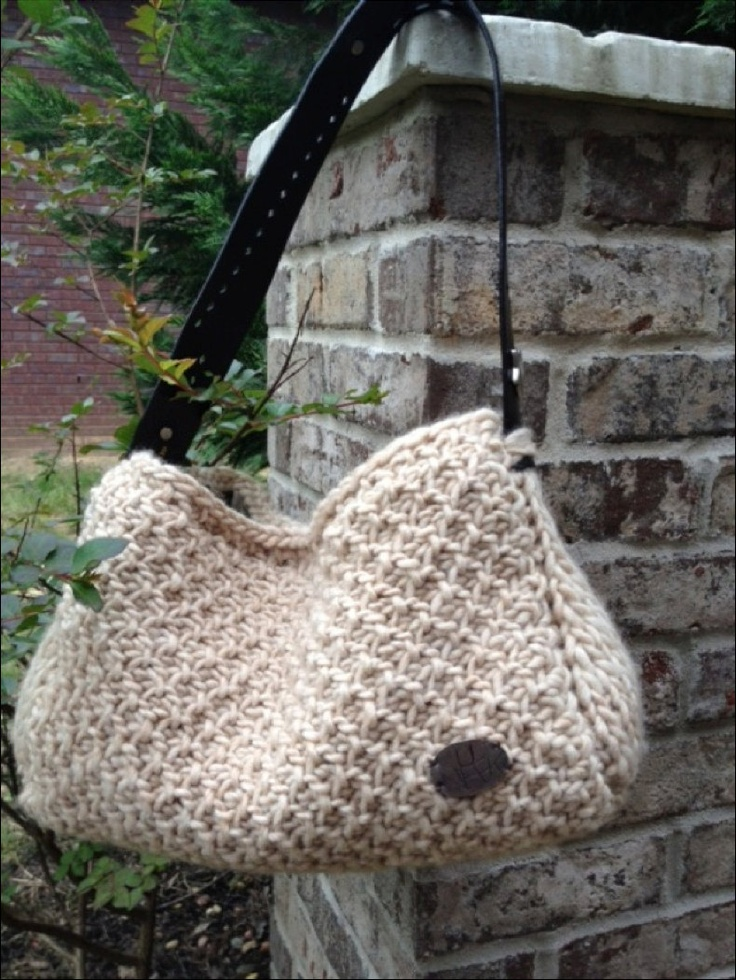 Tunisian Crochet Patterns Bags : PATTERN: The Roxie TUNISIAN Crochet Bag Pattern