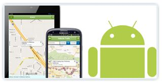 android fleet tracking app